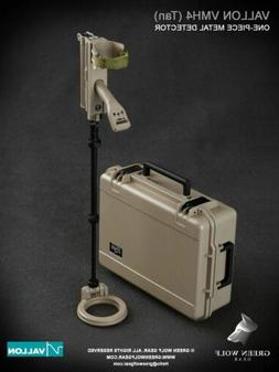 1/6 Scale Toy - Metal Detector Vallon VMH4 w/Hard Case in Ta