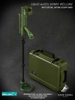 1/6 Scale Toy - Metal Detector Vallon VMH4 w/Hard Case in OD