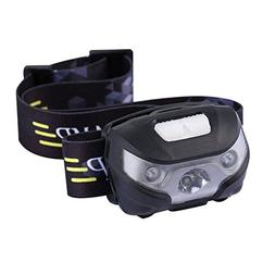 1 Set 3000 Lumens Cree XPE LED Headlamp 3 Mode Flashlights M
