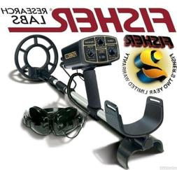 """Fisher 1280X Aquanaut Metal Detector with 8"""" Search Coil - W"""