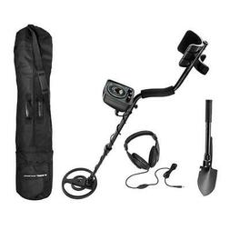 BARSKA Pro 200 Metal Detector Field Kit, Black