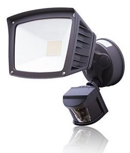 4,800 Lumens - LED Wall Flood Light with Motion Sensor - Bro