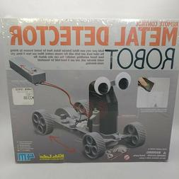 4M Remote Control Metal Detector Robot Kit- Mechanics Scienc