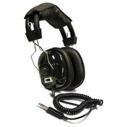 Bounty Hunter Metal Detector Binaural Headphone Wired Connec