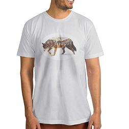 F.Pansy Wolf Men's Classic Short Sleeve T-Shirt