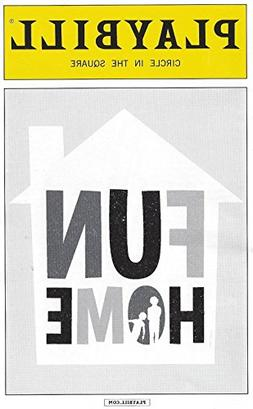 Fun Home Playbill August 2015 on Broadway Circle in the Squa