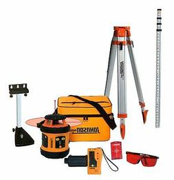 Johnson Level & Tool 99-006K Self Leveling Rotary Laser Syst