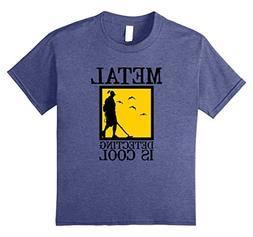 Kids Metal Detector T-Shirt | Metal Detecting is Cool 12 Hea