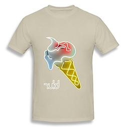 ZEKO Men's Tshirt Blur The Magic Whip Size XL Natural