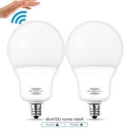 LOHAS LED A19 Light Bulbs with Radar Sensor, Dusk to Dawn Sm