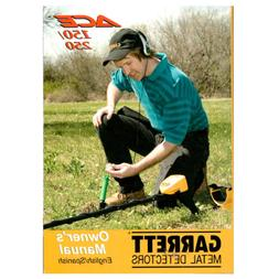 Garrett ACE 150/250 Metal Detector Owner's Manual