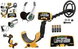 ACE 200 Metal Detector with Waterproof Search Coil and Treas
