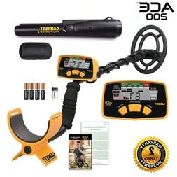 ace 200 metal detector with waterproof search