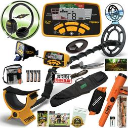 Garrett ACE 300 Metal Detector with Waterproof Coil Pro-Poin