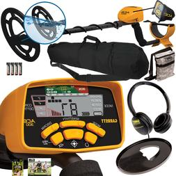 Garrett ACE 300 Metal Detector, Headphones, Travel Bag, Pouc