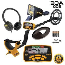 ace 300 metal detector proformance submersible search