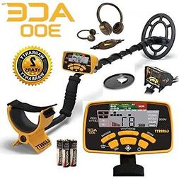 Garrett Ace 300 Metal Detector with Waterproof Coil Plus Fre