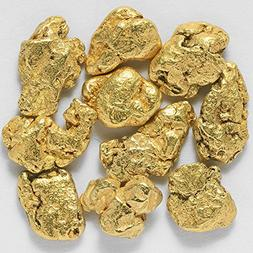 10 Pieces Alaska Natural Gold Nuggets Or Flake From Porcupin