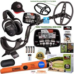 Garrett AT MAX Metal Detector, Wireless Headphones, Hat, Cov