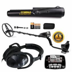 Garrett AT Pro Waterproof Metal Detector with MS-2 Headphone