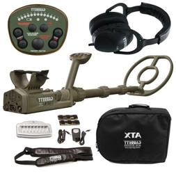 GARRETT ATX DEEPSEEKER METAL DETECTOR PACKAGE WITH HARD CASE