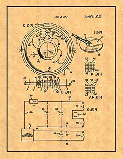 Balanced Search Loop for Metal Detector Patent Print with Bo