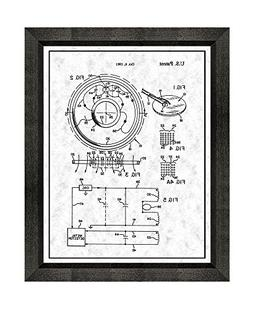 Balanced Search Loop for Metal Detector Patent Art Gunmetal