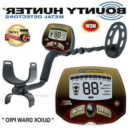 "Bounter Hunter QUICK DRAW PRO Metal Detector With 10"" Coil W"