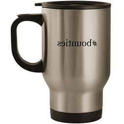 #bounties - Stainless Steel 14oz Road Ready Travel Mug, Silv