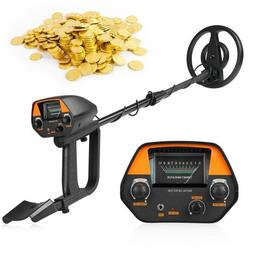 bounty hunter metal detector with pinpointer gold