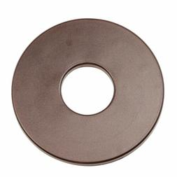 """Tesoro 8"""" Center Hole Brown Metal Detector Search Coil Cover"""