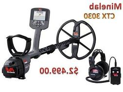 Minelab CTX 3030 The Ultimate High Performance Waterproof Me