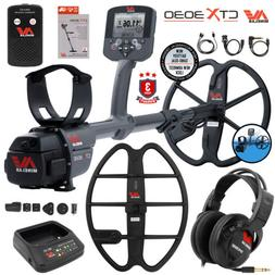"Minelab CTX 3030 Underwater Detector Bundle 17"" DD Smart Coi"