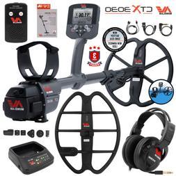 """Minelab CTX 3030 Underwater Detector Bundle 17"""" DD Smart Coi"""