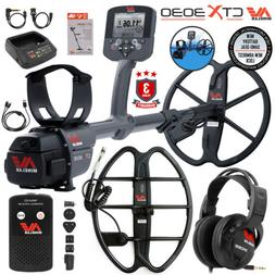 Minelab CTX 3030 Waterproof Metal Detector Special with 17""