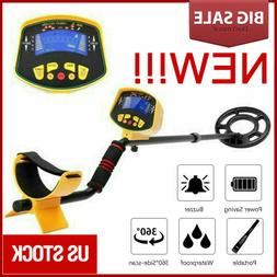 Deep Ground Sensitive Waterproof Metal Detector MD3010II Gol