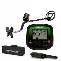 Teknetics Delta 4000 Metal Detector with Carry Bag and Pinpo