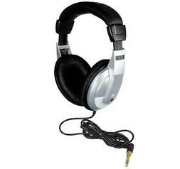 DELUXE METAL DETECTOR OR AUDIO HEADPHONES - GOLD TIPPED - GA