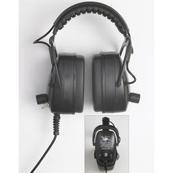 DetectorPro Black Widow Metal Detector Headphones