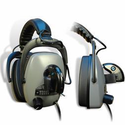 DetectorPro Gray Ghost BT Bluetooth Metal Detector Headphone