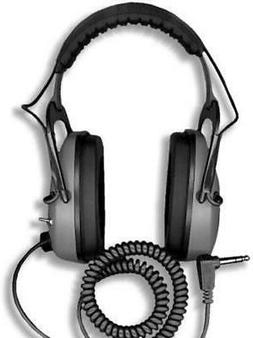 DetectorPro Original Gray Ghost Headphones Metal Detectors w