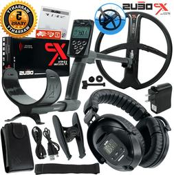 XP Deus Metal Detector V4  WS-5 Wireless Headphones + Remote