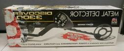 Discovery 3300 Metal Detector, Pinpoint High Performance 2.5