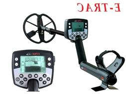 """Minelab E-Trac Metal Detector with 11"""" DD Search Coil - Free"""