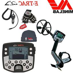 Minelab E-TRAC Metal Detector Special Bundle with Free Minel