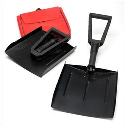 Folding Steel Shovel perfect for your car - don't get stuck