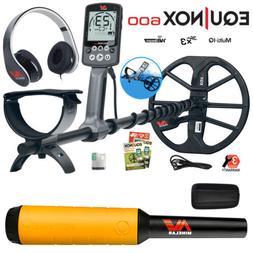 Minelab EQUINOX 600 Multi-IQ Underwater Metal Detector & Pro