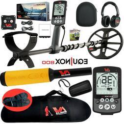 Minelab EQUINOX 800 Multi-IQ Metal Detector w/ Pro Find 35 P