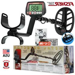 "Fisher F44 Metal Detector with 11"" DD Waterproof Search Coil"