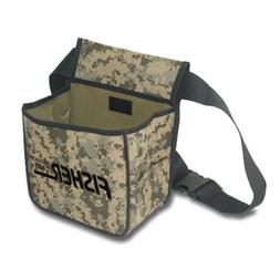 Fisher Metal Detector Camo Pouch two Large Pockets and Belt